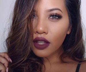 pretty and fall makeup image