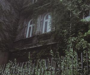 house, dark, and window image