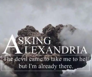 aa, asking alexandria, and wallpaper image