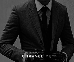 books, unravel me, and handsome image