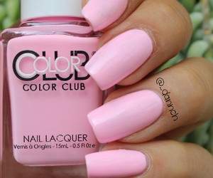 baby pink, fashion, and manicure image