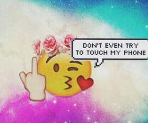 emoji, tumblr, and wallpaper image