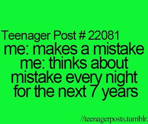 mistakes, lol, and teenager post image