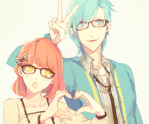 anime, couple, and uta no prince sama image
