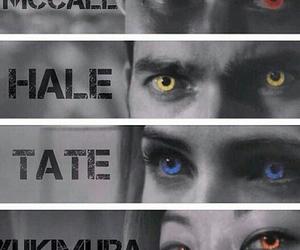 eyes, kira, and teen wolf image