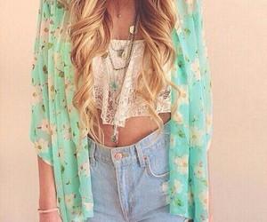 summer boho outfit colour image