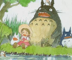 anime, My Neighbor Totoro, and studio ghibli image