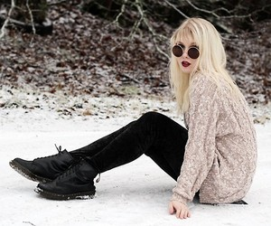 blonde, lookbook, and fashion image