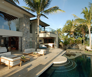 home, luxury, and piscine image