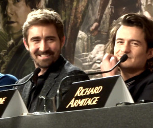 lee pace, orlando bloom, and the hobbit image