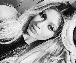 kylie jenner, hair, and blonde image