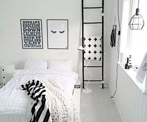 room, bedroom, and white image