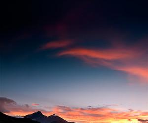 beautiful, dusk, and landscape image