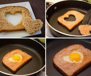 heart, breakfast, and diy image