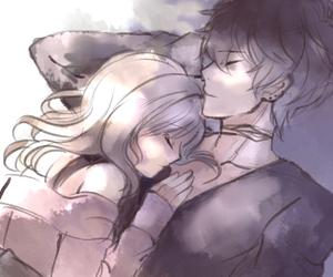 anime, shu, and couple image