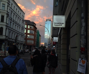 sky, american apparel, and grunge image