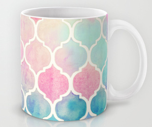 blue, pink, and cup image