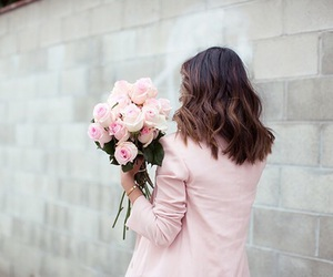 flowers, fashion, and pink image