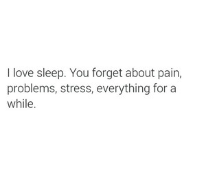 quote, sleep, and pain image