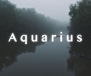 aesthetic, aquarius, and black and white image
