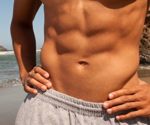abs, beach, and guys image