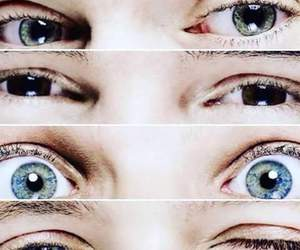 eyes, liam payne, and niall horan image