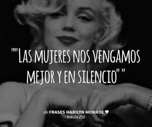 venganza, mujeres, and Marilyn Monroe image