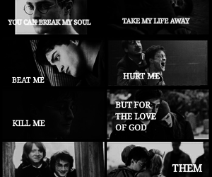 always, potter, and ron image