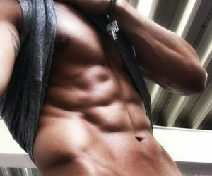 abs, Hot, and gym image