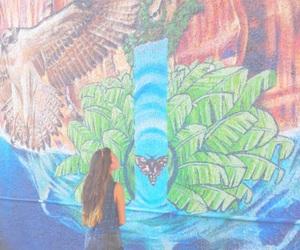 girl, tumblr, and tropical image