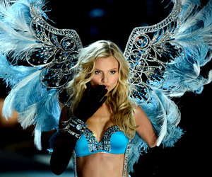 angel, blue, and Victoria's Secret image