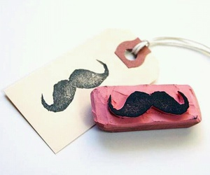 diy, moustache, and mustache image