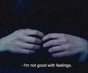 feelings, hand, and sadness image