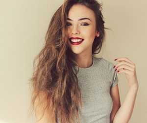 brunette, make up, and photography image