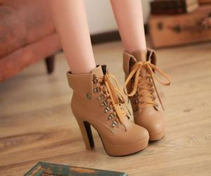 booties, luxury, and outfit image