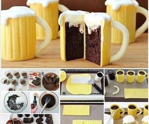 cake and beer image