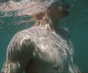aesthetics, body, and drown image