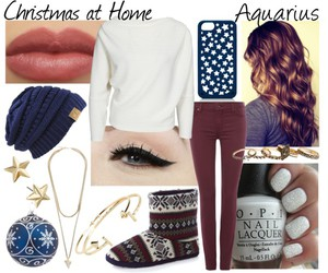 aquarius, christmas, and eyes image