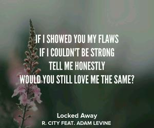 love me, adam levine, and Lyrics image