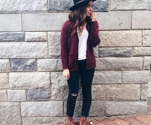autumn, jeans, and outfits image