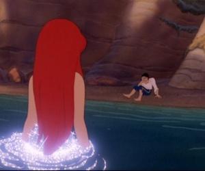 ariel, the little mermaid, and disney cartoons image