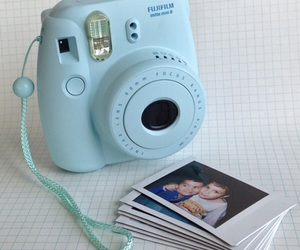 blue and camera image