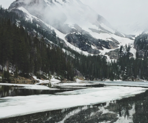 travel, mountain, and nature image