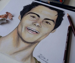 drawing, dylan, and fandom image
