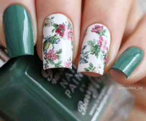 nails, beautiful, and fashion image