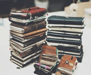 books, journal, and diary image