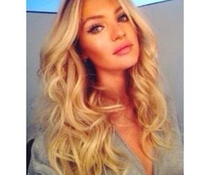 beauty, model, and Victoria's Secret image