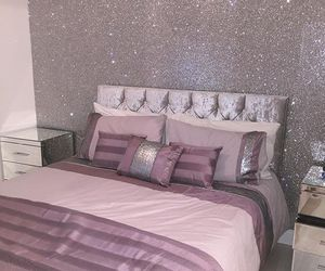 glitter, bedroom, and decor image