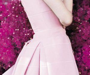 audrey hepburn, pink, and actress image