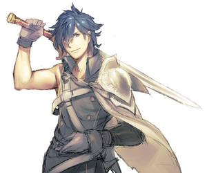 game, sword, and anime boy image